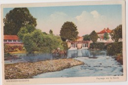 Sermaize-les-Bains   Paysage Sur La Saulx - Sermaize-les-Bains