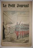 Le Petit Journal 17/10/1909 - Exécution D'un Insurgé De Barcelone ... Prison De Monjuich - Jolie Vivandière ... Maroc - Journaux - Quotidiens