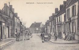 Pontgouin 28 - Faubourg Saint Jacques - Editeur Lagoutte Buraliste - Unclassified