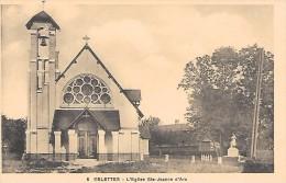 ESLETTES  ( 76 )  - L' Eglise Ste Jeanne D'Arc - Francia