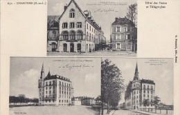 Chartres 28 -  Autrefois Aujourd'hui 3 Vues De L'Hôtel Des Postes Et Télégraphes PTT - Chartres