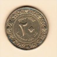 ALGERIA  20 CENTIMES 1964 (AH 1383) (KM # 98) - Algeria