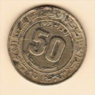 ALGERIA  50 CENTIMES 1971 (AH 1391) (KM # 102) - Algeria
