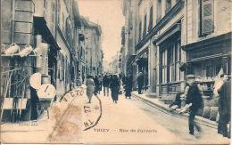 69 / Rhône - LOT 2 Cpa THIZY - Rue Juiverie / BOURG DE THIZY - Vue Générale - Thizy