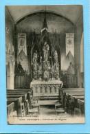 76  .GUEURES  ,  Intérieur  De  L ' église  . - France