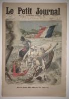 Le Petit Journal 31/07/1910 - Noyés Dans Les Rapides Du Mékong - Deux Chemineaux Jettent Un Enfant - Dessins De Draner - Journaux - Quotidiens