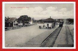 AMERIQUE - ETATS UNIS  - The Depot , MARSHFIELD - Etats-Unis