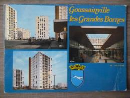 """GOUSSAINVILLE (95). MULTIVUES :  """" LES GRANDES BORNES """" . ANNEE 1976. - Goussainville"""