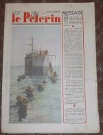 Le Pèlerin. N°3452. 9 Janvier 1949. Onze Aviateurs Bloqués Au Groenland. Zoé Pile Atomique. Pat´Apouf. - Livres, BD, Revues