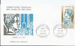 Territoire Français Des Afars Et Des Issas Fdc  24  Juillet 1975   Djibouti - Afars Et Issas (1967-1977)