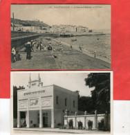 ALGER  / ALGERIE   1910  LOT DE DEUX CPA SAINT EUGENE BOULEVARD MALAKOFF Et ZOO   CIRC OUI / - Algiers