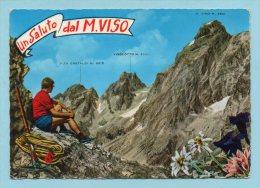 Un Saluto Dal M. Viso (spedita Da Crissolo) - Cuneo