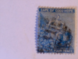 CAPE OF GOOD HOPE  1864-5  SCOTT #17 - South Africa (...-1961)