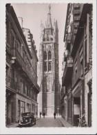CPSM Grand Format - BORDEAUX - La Tour Pey Berland - Vieille Voiture Ancienne - Bordeaux