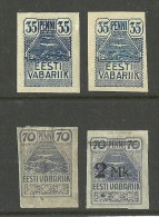 Estonia Estonie 1919-1920 Seagull * - Estland
