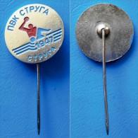 PIN 1174 MACEDONIA SWIMMING And WATER POLO PVK STRUGA STRUGA 1947 - Water Polo