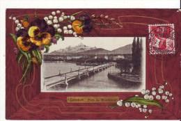 Cpa Genève  Pont Du Montblano - GE Genève
