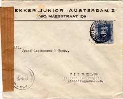 Österreich Brief 1937 - 24 Gro (Ank659) Frankierung, Brief Mit Mehrseitigen Inhalt