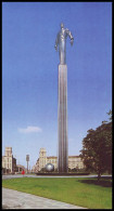 MOSCOW, RUSSIA (USSR, 1987). MONUMENT TO YURI GAGARIN - Monuments