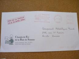 Chemin De Fer De La Baie De Somme 5/05/2006 St Valery Sur Somme - Marcophilie (Lettres)