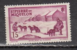 ST PIERRE ET MIQUELON *  YT N° 172 - Unused Stamps