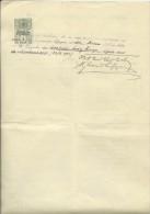 CROATIA --  ZAGREB, PITOMACA   --    STATE EXAM 1920  --   TIMBRE FISCAL, TAX STAMP - Diplome Und Schulzeugnisse