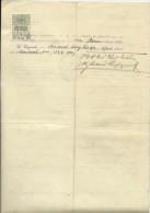 CROATIA --  ZAGREB, PITOMACA   --    STATE EXAM 1921  --   TIMBRE FISCAL, TAX STAMP - Diplome Und Schulzeugnisse