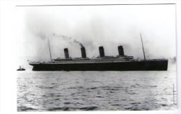 TITANIC Postal - On Board RMS Titanic - Commerce