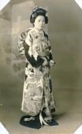 USA Hawai Honolulu Mode Feminine Traditionelle Japonaise Ancienne Photo 1948