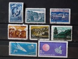 BULGARIE - Lot De Poste Aérienne (7 O / 1 * - Voir Scan) - Luftpost