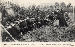 1914  YPRES  - Soldats Belges  En Action - Andere