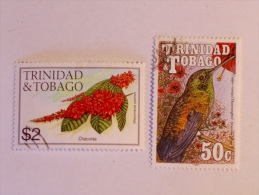 TRINIDAD & TOBAGO   1983 , 1990   LOT # 4  FLOWER, BIRD - Trinité & Tobago (1962-...)