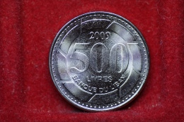 Lebanon 500 Livres 2009 Km#39 UNC - Liban