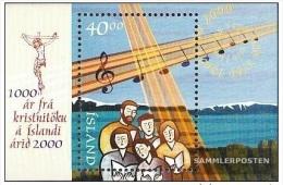 2000 - ISLANDA / ICELAND - MILLE ANNI DI CRISTIANESIMO IN ISLANDA - EMISSIONE CONGIUNTA CON VATICANO. MNH - Emissioni Congiunte