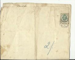CROATIA  / AUSTRIA  --  ZAGREB, PETRINJA  -  KR. ZEM. ZENSKE STRUCN  -  CERTIFICATE  - 1894  -- TIMBRE FISCAL, TAX STAMP - Diplome Und Schulzeugnisse
