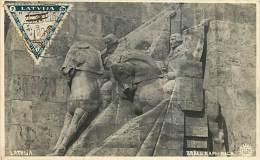 RIGA. BRALU KAPJ. CARTOLINA VIAGGIATA 1933 - Lettonia