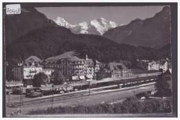 INTERLAKEN - BAHNHOF - BAHN - TRAIN - TB - BE Berne