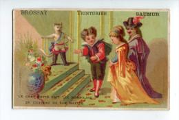 Chromo Bognard Chat Botté - Old Paper