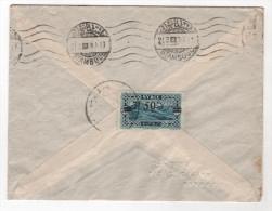 Brief  Syrien, Aleppo Nach Wien - Syrien (1919-1945)
