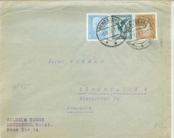 Germany Cover To Danemark - Briefe U. Dokumente