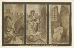 Kerk Van LICHTERVELDE - Muurversieringen Door L. Bressers, Kerkschilder, Margarita Verdrijft De Draak Door Het Kruis - Lichtervelde