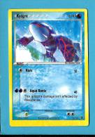 POKEMON 2006 - Kyogre - 80 HP - 100 / 106 - 2 SCANS - Pokemón