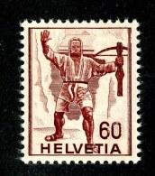 9644  Swiss 1941  Michel #379*  ( Cat. 10.€ ) - Suiza
