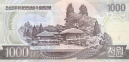 KOREA P. 45a 1000 W 2002 UNC - Corea Del Nord