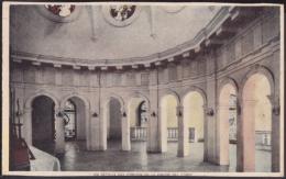 POS-152 CUBA SANTIAGO DE CUBA POSTCARD. CHURCH OF CARIDAD DEL COBRE. INTERIOR DEL CAMERIN DE LA VIRGEN. CIRCA 1940. - Cuba