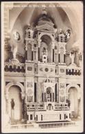 POS-153 CUBA SANTIAGO DE CUBA POSTCARD. CHURCH OF CARIDAD DEL COBRE. ALTAR MAYOR. CIRCA 1950. - Cuba