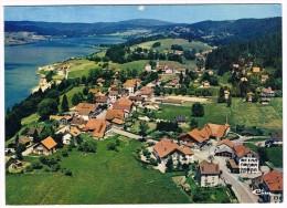 MALBUISSON . 25 . Vue Aerienne Le Village Et Le Lac . - Other Municipalities