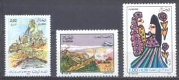 Algérie YT N°952-953-954 Service National - Lutte Antiacridienne - Journée Internationale De L'enfant Neuf ** - Algeria (1962-...)