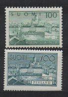 P585.-. FINLAND / FINLANDIA. 1942 . SC # : 240,350 . MNH - SOUTH HARBOR HELSINKI. CV: US$ 11.00 - Unused Stamps
