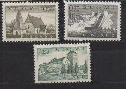 P590.-. FINLAND / FINLANDIA. 1963 . SC # : 407 // 411 . MNH - . CV: US$ 6.50 - Finland